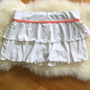 Nike Skirts - Nike ruffle running skirt